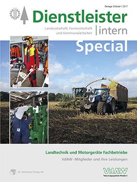 Dienstleister intern Special - Landtechnik und Motorgeräte Fachbetriebe im VdAW